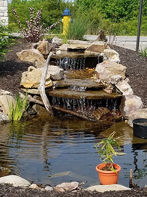 Example of a Pondless Kit